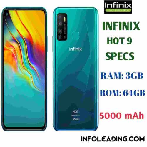 Infinix Hot 9 Specs and price review