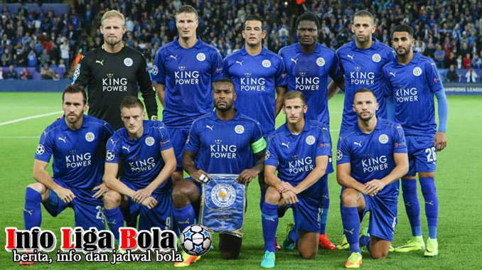 Susunan Pemain Leicester City FC 2017-2018