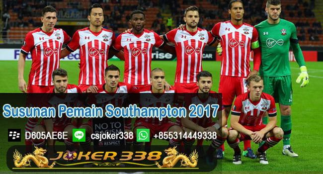 Susunan Pemain Southampton 2017