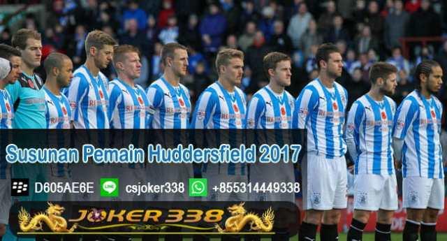 Susunan Pemain Huddersfield 2017