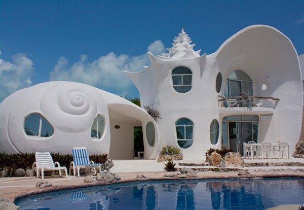 Sea Shell House, Mexico