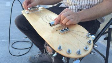 Guitare Electrique SkateBoard