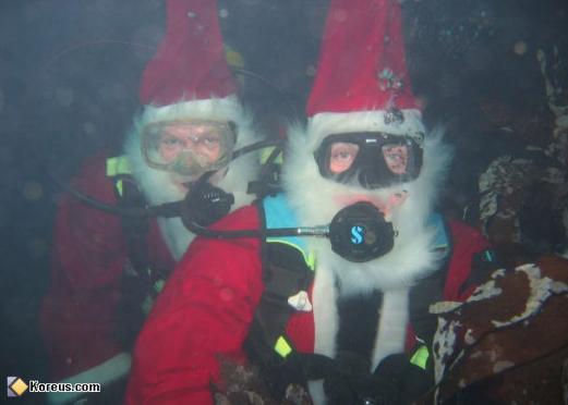 Y a des gens qui habitent sous l'eau ?