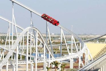 Formula Rossa, FerrariWorld, Emirats Arabes Unis