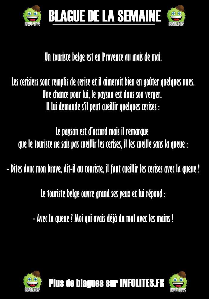 #14 - Blague : Le Belge et les Cerises