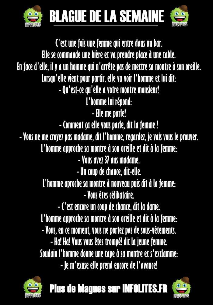 #24 - Blague : La Montre