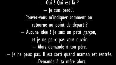 45 - BLAGUE DE LA SEMAINE - Un Parisien en Auvergne
