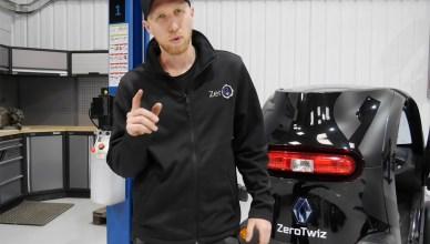 La Renault Twizy, 100ch pour une voiture électrique
