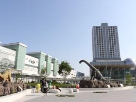 ハピリン 福井駅 恐竜