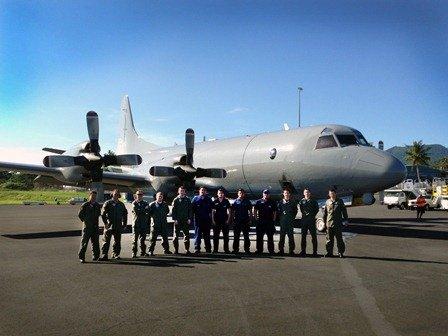 P-3K2 Orion in Samoa