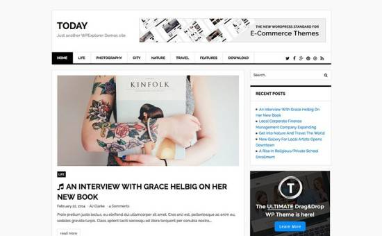 today-free-news-blog-wordpress-theme