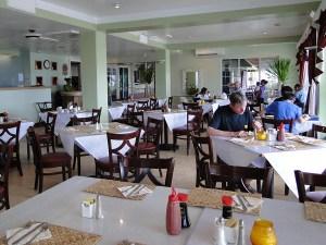 The Marshall Islands Resort's Enra Restaurant. Photo: Karen Earnshaw