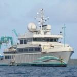 Yacht Alucia Heads to Bikini
