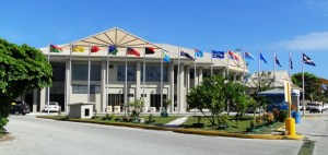 The International Convention Center in Delap. Photo: Karen Earnshaw