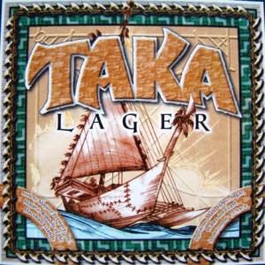 Taka lager coaster