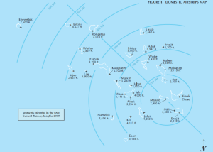 Domestic airstrips in the Marshall Islands. Image: RMI Ports Authority