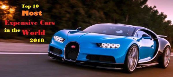 Top 10 Most Expensive Cars In The World. U201c