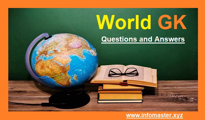 Top 50 World GK Questions and Answers for Competitive Exams