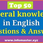 50 most important GK questions and answers in English
