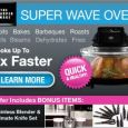 Super Wave Oven By Sharper Image Tri-Cooking