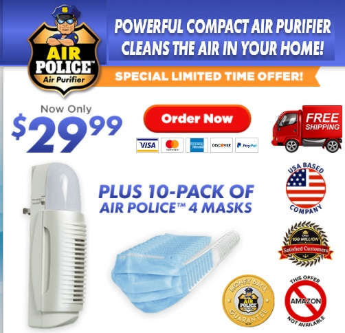 Air Police Air Purifier TV Offer