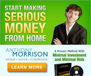 Anthony Morrison Advertising Profits