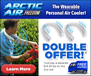 Arctic Air Freedom Double Offer