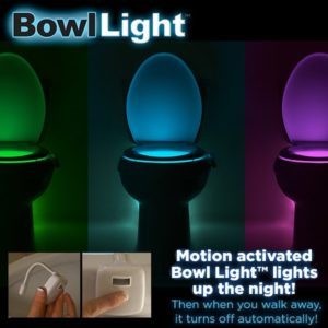 Motion Activated Bowl Light