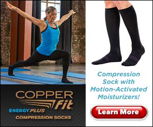 Copper Fit Energy Plus Compression Socks