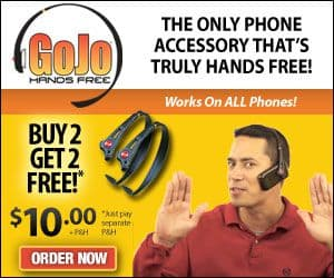 Gojo Handsfree Phone Headset