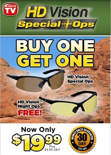 hd vision ops glasses offers