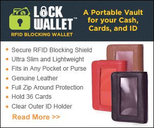Lock Wallet RFID Blocking