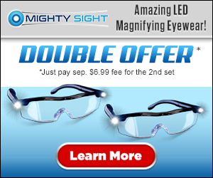 As Seen On TV Mighty Sight Glasses