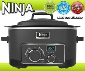 the ultimate ninja cooking system