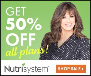 Nutrisystem 50% Off All Plans