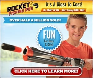 rocket fishing rod