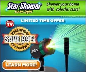 Star Shower Laser Lights