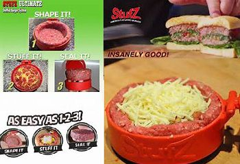 Stufz Burger Maker