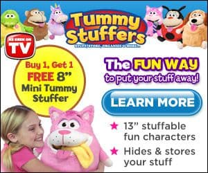 tummy stuffers plush toy