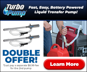 Turbo Pump AS Seen On TV