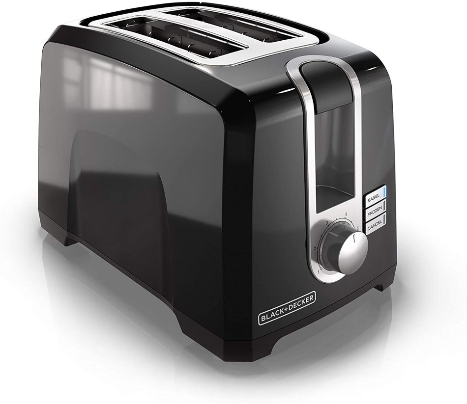 Black + Decker 2-Slice Toaster