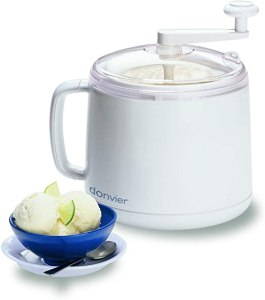 Donvier 837450 Manual Ice Cream Maker