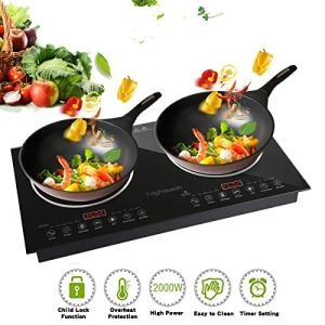 CUISUNYO 1800W Double Induction Burner