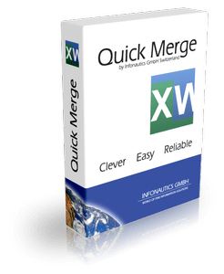 Quick Merge for Excel™+Word™ - Download free demo version