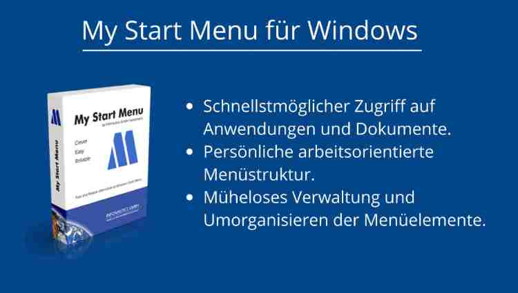 Alternatives Startmenü für Windows