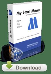 My Start Menu - Alternatives Startmenü für Windows