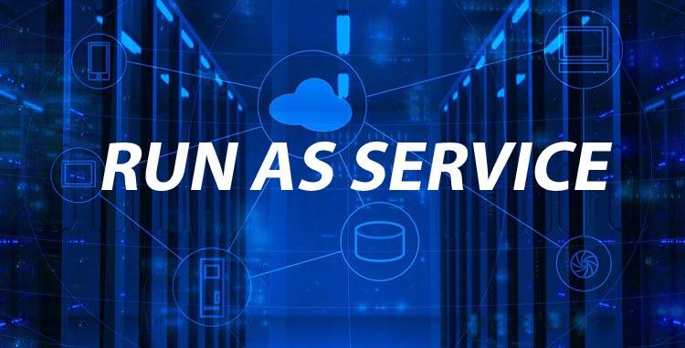Run as service