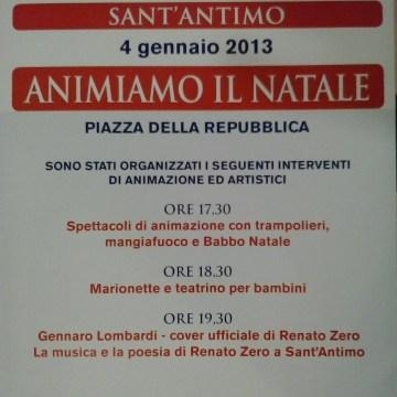 """""""Animiamo il Natale"""": manifestazione artistica a Sant'Antimo"""