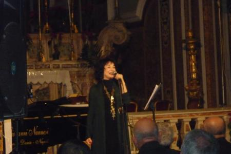 Standing Ovation a Sant'Antimo per Misia