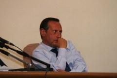 Il sindaco di Arzano Fuschino